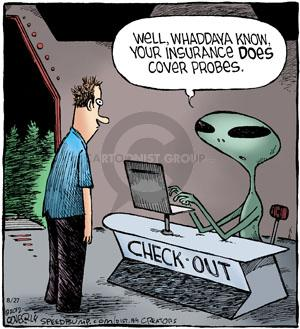 Comic Strip Dave Coverly  Speed Bump 2012-08-27 alien abduction