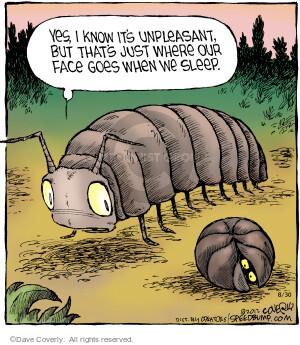 Comic Strip Dave Coverly  Speed Bump 2012-08-30 centipede