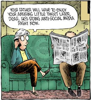 Comic Strip Dave Coverly  Speed Bump 2012-08-31 online newspaper