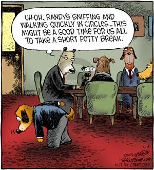 Comic Strip Dave Coverly  Speed Bump 2012-09-14 potty