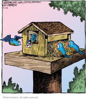 Comic Strip Dave Coverly  Speed Bump 2012-09-26 bird food