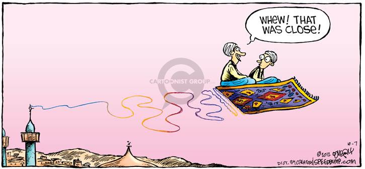 Comic Strip Dave Coverly  Speed Bump 2012-10-07 fly