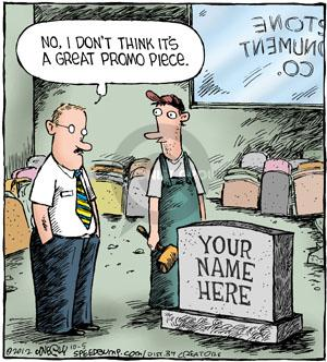 Comic Strip Dave Coverly  Speed Bump 2012-10-05 tombstone