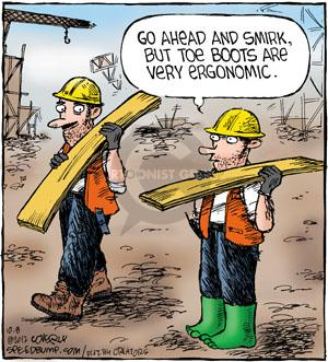 Comic Strip Dave Coverly  Speed Bump 2012-10-08 construction worker