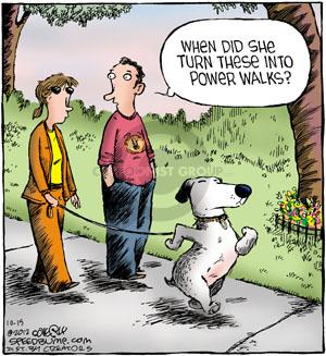 Comic Strip Dave Coverly  Speed Bump 2012-10-15 exercise