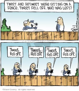 Cartoonist Dave Coverly  Speed Bump 2012-10-22 tweet