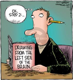 Cartoonist Dave Coverly  Speed Bump 2012-10-26 instruction manual