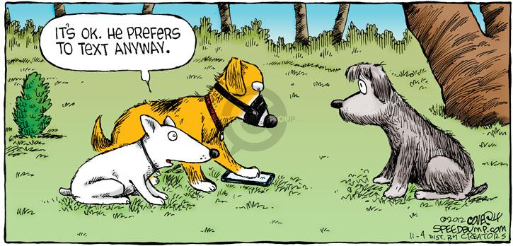 Comic Strip Dave Coverly  Speed Bump 2012-11-04 mobile
