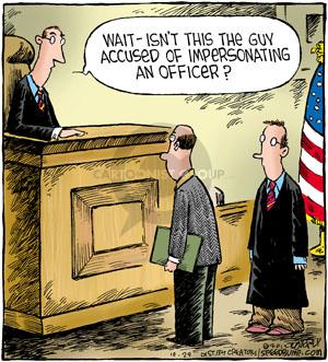 Cartoonist Dave Coverly  Speed Bump 2012-10-29 justice
