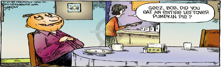 Comic Strip Dave Coverly  Speed Bump 2012-12-02 Thanksgiving