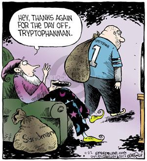Cartoonist Dave Coverly  Speed Bump 2012-11-22 Thanksgiving