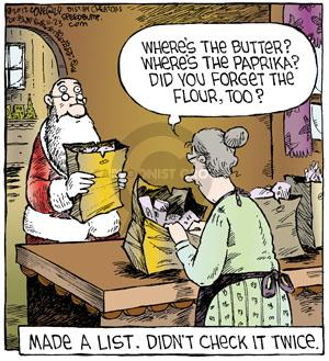Comic Strip Dave Coverly  Speed Bump 2012-11-23 ingredient