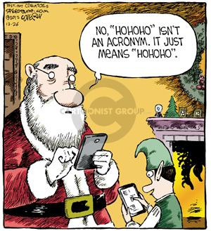 Comic Strip Dave Coverly  Speed Bump 2012-12-26 mobile