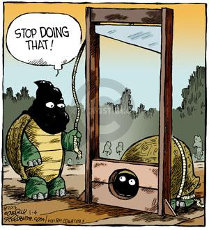 Comic Strip Dave Coverly  Speed Bump 2013-01-04 execution