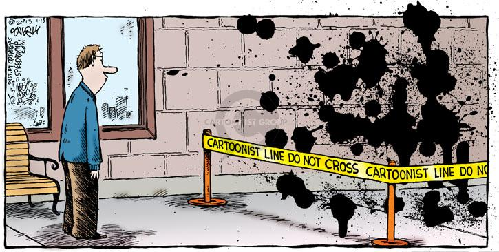 Comic Strip Dave Coverly  Speed Bump 2013-01-13 ink