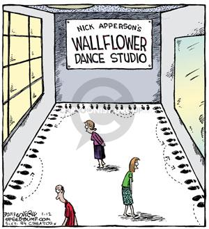Comic Strip Dave Coverly  Speed Bump 2013-01-12 dancer