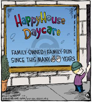 Comic Strip Dave Coverly  Speed Bump 2013-01-16 childcare