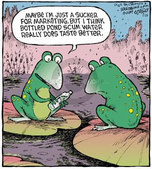 Comic Strip Dave Coverly  Speed Bump 2013-01-25 frog