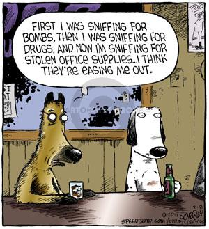 Comic Strip Dave Coverly  Speed Bump 2013-02-08 drug