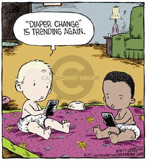 Cartoonist Dave Coverly  Speed Bump 2013-02-21 tweet