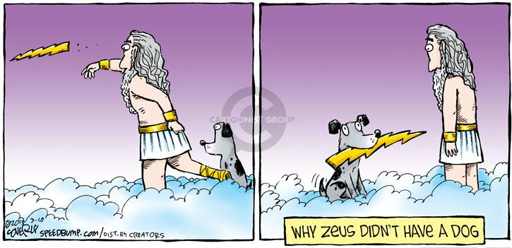 Comic Strip Dave Coverly  Speed Bump 2013-03-10 Zeus