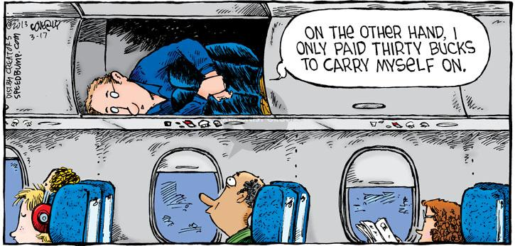 Comic Strip Dave Coverly  Speed Bump 2013-03-17 passenger