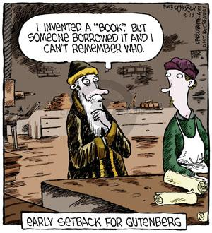 Comic Strip Dave Coverly  Speed Bump 2013-03-13 printing press