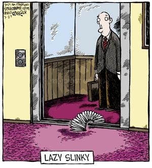 Comic Strip Dave Coverly  Speed Bump 2013-03-27 toy