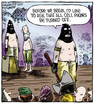 Comic Strip Dave Coverly  Speed Bump 2013-04-05 execution