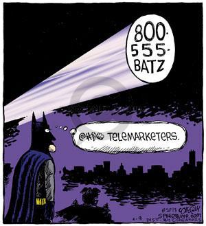 Cartoonist Dave Coverly  Speed Bump 2013-04-08 hero