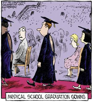 Comic Strip Dave Coverly  Speed Bump 2013-04-09 medical school