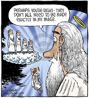 Cartoonist Dave Coverly  Speed Bump 2013-04-13 made