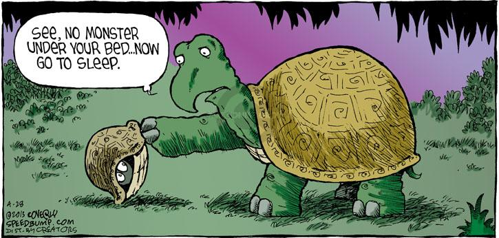 Comic Strip Dave Coverly  Speed Bump 2013-04-28 scare