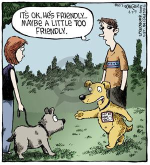 Comic Strip Dave Coverly  Speed Bump 2013-04-29 dog tag