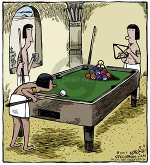 Comic Strip Dave Coverly  Speed Bump 2013-05-04 pool