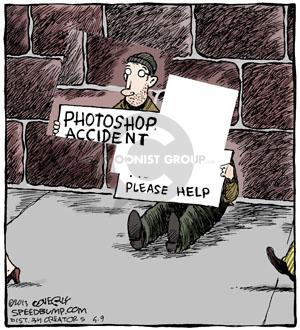 Cartoonist Dave Coverly  Speed Bump 2013-05-09 digital photo