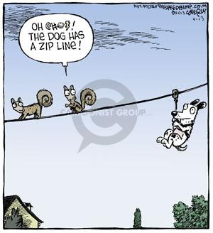 Comic Strip Dave Coverly  Speed Bump 2013-05-13 aerial