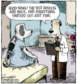 Comic Strip Dave Coverly  Speed Bump 2013-05-21 veterinarian