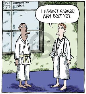 Cartoonist Dave Coverly  Speed Bump 2013-06-04 baggy