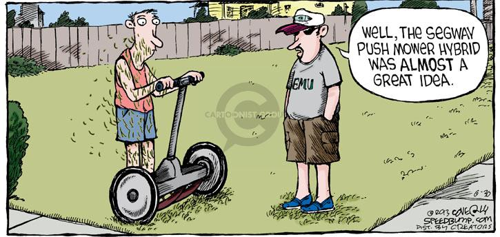 Comic Strip Dave Coverly  Speed Bump 2013-06-30 transportation
