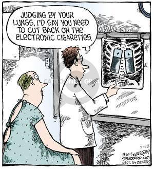 Cartoonist Dave Coverly  Speed Bump 2013-07-12 smoking