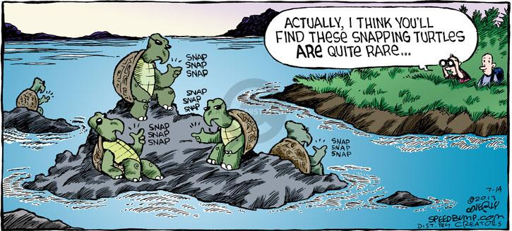 Comic Strip Dave Coverly  Speed Bump 2013-07-14 finger