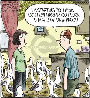 Comic Strip Dave Coverly  Speed Bump 2013-07-19 seagull