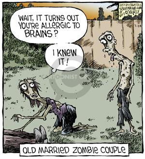 Comic Strip Dave Coverly  Speed Bump 2013-07-24 zombie