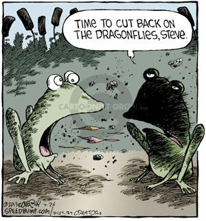Cartoonist Dave Coverly  Speed Bump 2013-07-26 fire breathing