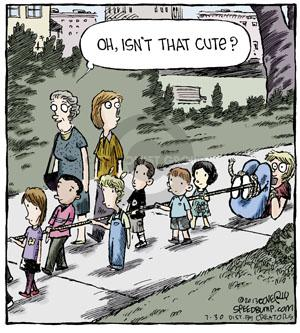 Comic Strip Dave Coverly  Speed Bump 2013-07-30 child behavior