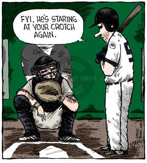 Comic Strip Dave Coverly  Speed Bump 2013-08-01 baseball
