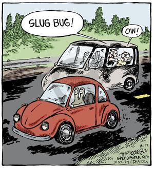 Comic Strip Dave Coverly  Speed Bump 2013-08-17 Volkswagen