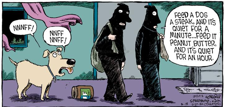 Comic Strip Dave Coverly  Speed Bump 2013-08-18 steal