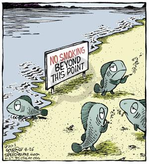 Comic Strip Dave Coverly  Speed Bump 2013-08-26 cigarette